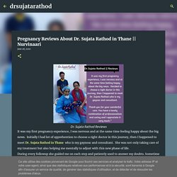 Pregnancy Reviews About Dr. Sujata Rathod in Thane