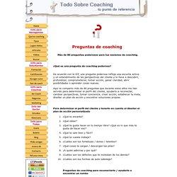 Preguntas de coaching