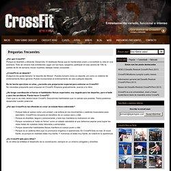 Preguntas frecuentes : CrossFit Perú