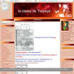 la Préhistoire - la classe de Touyéyé