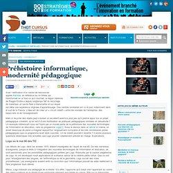 Préhistoire informatique, modernité pédagogique* : Articles : Thot Cursus