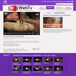 Les céréales à la préhistoire - Gestes et techniques à la préhistoire - CRDP - Académie d'Amiens - Savoirs TV