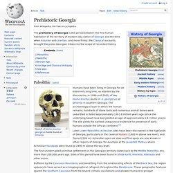 Prehistoric Georgia