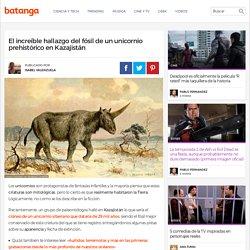 El increíble hallazgo del fósil de un unicornio prehistórico en Kazajistán