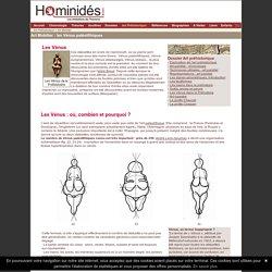 Venus - Art préhistorique - Brassempouy - Lespugne - Willendorf