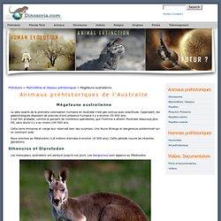 Animaux préhistoriques de l'Australie