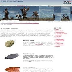 Les outils de pierre préhistoriques