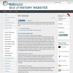 Prehistory-1500s