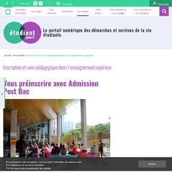 Vous préinscrire avec Admission Post Bac - etudiant.gouv.fr