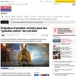"""Préjudice d'anxiété: victoire pour les """"gueules noires"""" de Lorraine"""