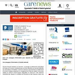 Prélèvement à la source: que deviennent les réductions d'impôt sur les dons? - Carenews