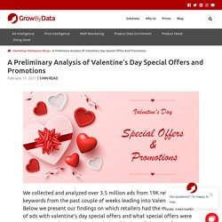 A Preliminary Analysis of Valentine's Day Special Offers and Promotions