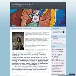 Prélude de cristal : un roman poly ?