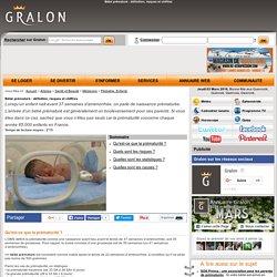 Bébé prématuré : définition, risques et chiffres