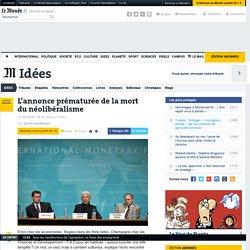 FMI : l'annonce prématurée de la mort du néolibéralisme