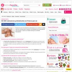 Prématurité: 60 000 naissances prématurées en France par an : un nombre en augmentation