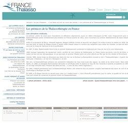 Les prémices de la Thalassothérapie en France - FRANCE THALASSO : Syndicat officiel de la Thalassothérapie en France