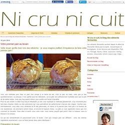 Votre premier pain au levain - Ni cru ni cuit, le blog des aliments fermentés