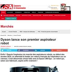 Dyson lance son premier aspirateur robot - Aspirateurs
