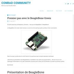 Premier pas avec le BeagleBone Green