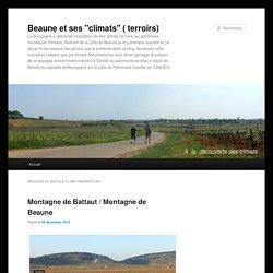 """Beaune et ses """"climats"""" ( terroirs)"""