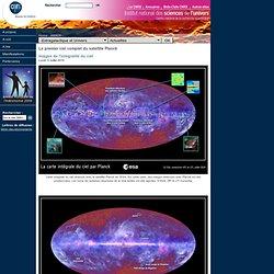 Le premier ciel complet du satellite Planck