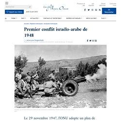 Premier conflit israélo-arabe de 1948