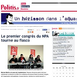 Le premier congrès du NPA tourne au fiasco