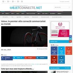Le Valour, le premier vélo connecté commercialisé au monde