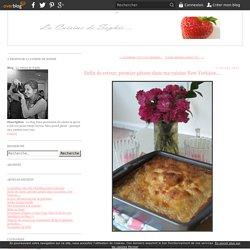Enfin de retour, premier gâteau dans ma cuisine New Yorkaise.... - La cuisine de Sophie