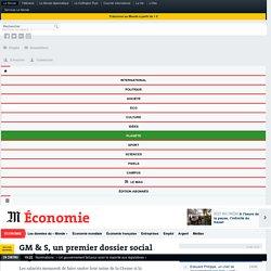 GM & S, un premier dossier social explosif