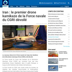 Iran: premier drone kamikaze de la Marine