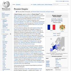 Premier Empire 1804-1815
