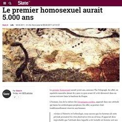 Le premier homosexuel aurait 5.000 ans