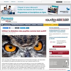 EDP Audio - Le premier site d'information 100% dédié à l'Audiologie