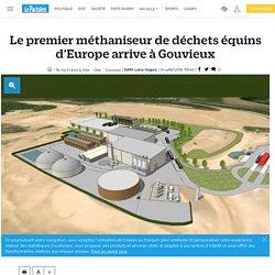 Le premier méthaniseur de déchets équins d'Europe arrive à Gouvieux