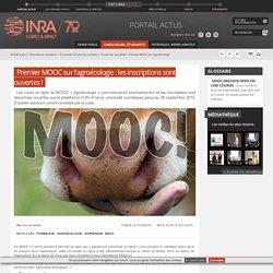 INRA 01/09/15 Premier MOOC sur l'agroécologie : les inscriptions sont ouvertes !