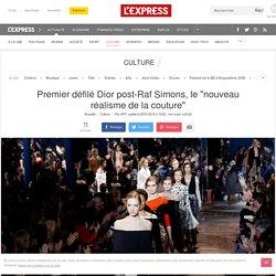 """Premier défilé Dior post-Raf Simons, le """"nouveau réalisme de la couture"""""""