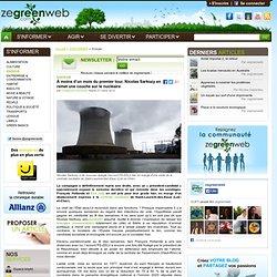 À moins d'un mois du premier tour, Nicolas Sarkozy en remet une couche sur le nucléaire