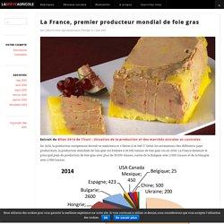 LA BREVE AGRICOLE 07/05/15 La France, premier producteur mondial de foie gras