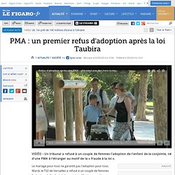 PMA: un premier refus d'adoption après la loi Taubira