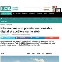 Nike nomme son premier responsable digital et...