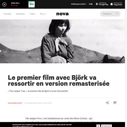Le premier film avec Björk va ressortir en version remasterisée