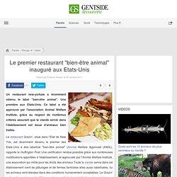 """Le premier restaurant """"bien-être animal"""" inauguré aux Etats-Unis"""