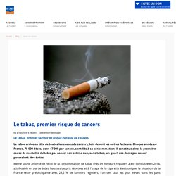 Le tabac, premier risque de cancers - Ligue contre le Cancer - (21) Cote d'or