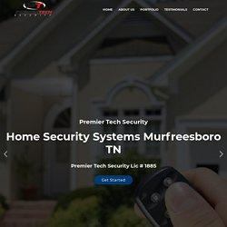 Home Security Systems Murfreesboro TN