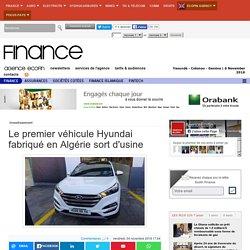 Le premier véhicule Hyundai fabriqué en Algérie sort d'usine