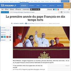 La première année du pape François en dix temps forts