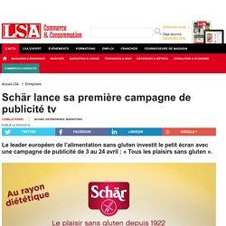 Schär lance sa première campagne de... - Nutrition
