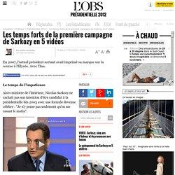 Les temps forts de la première campagne de Sarkozy en 5 vidéos - 15 février 2012